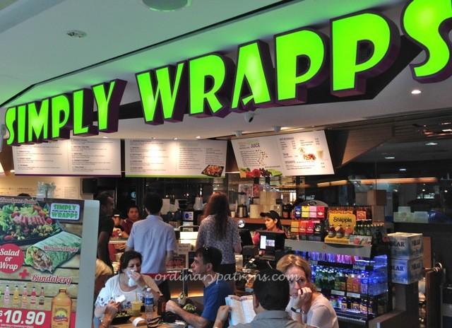 Simply Wrapps Raffles City The Ordinary Patrons