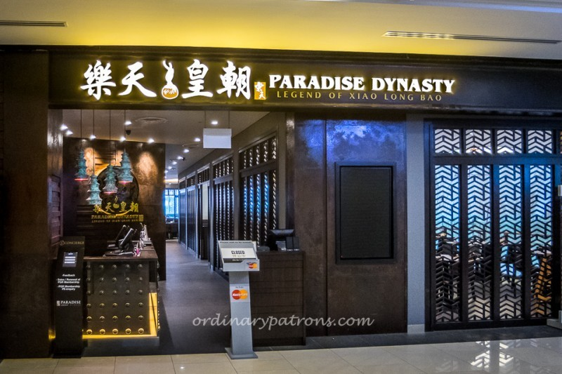 Paradise Dynasty @ One KM