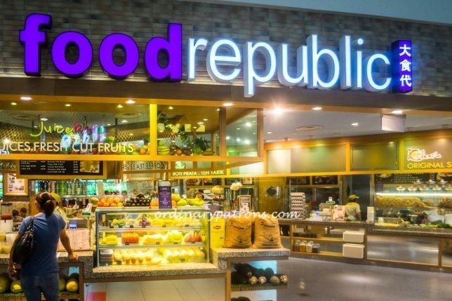 Food Republic food Court In Nex