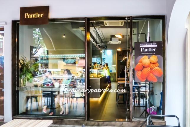 Pantler desserts Cafe