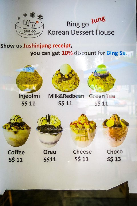Bing Go Bingsu