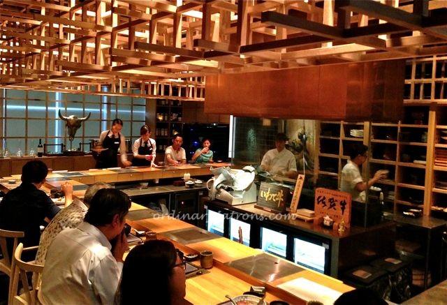 Fat Cow restaurant Singapore12
