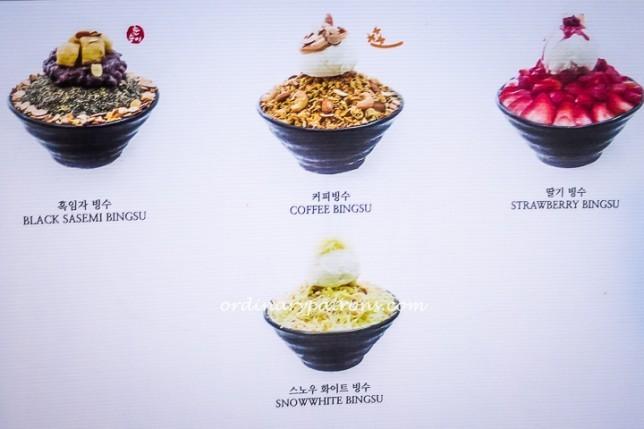 NunSongYee Premium Bingsu