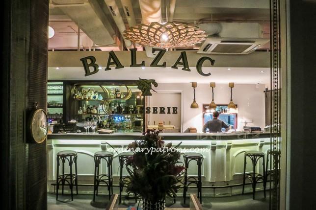 Balzac Restaurant at Fort Canning
