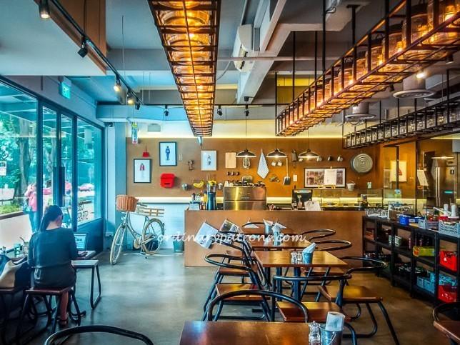 Oberstrasse - Cafe