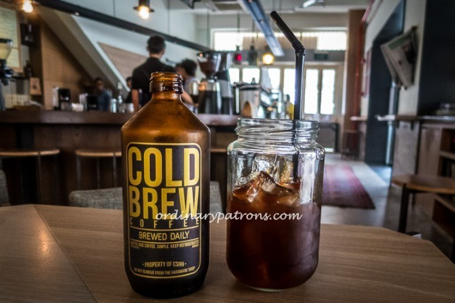 CSHH bottled cold brew coffee
