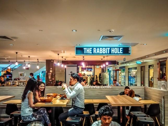 Salad at The Rabbit Hole