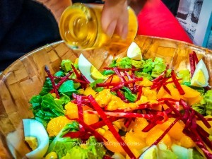 Craft your own Salad at The Rabbit Hole