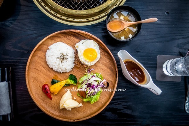 Magosaburo Burger Steak Set Lunch