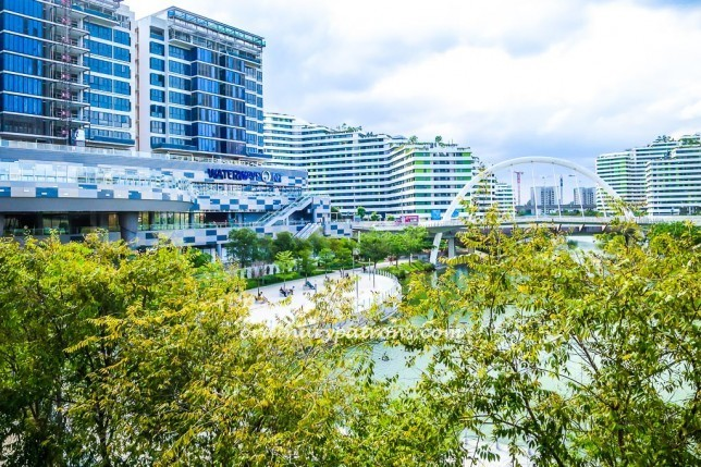 Waterway Point - new mall in Punggol