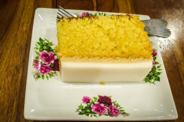 Quentin's Eurasian Restaurant Sugee Cake