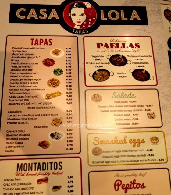 Casa Lola Barcelona tapas - 4