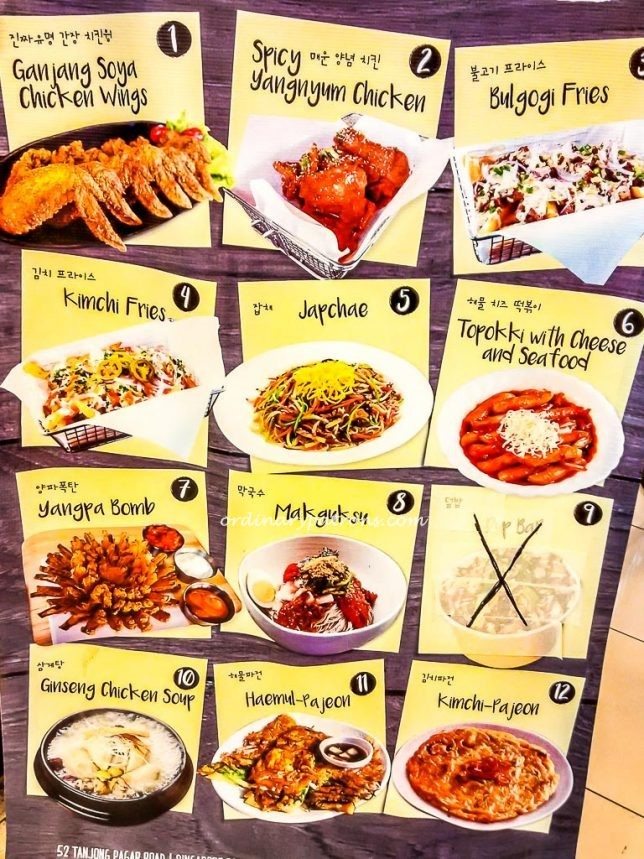 Chicken Up Menu Board