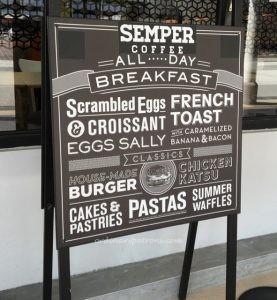 Semper Coffee Ghim Moh - 1