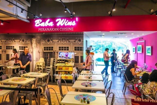 Baba Wins at Tiong Bahru Plaza