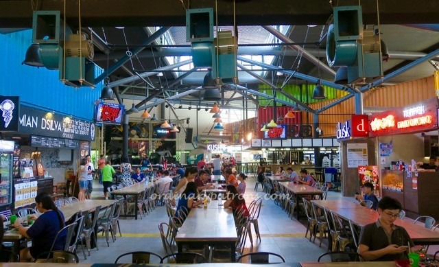 Timbre + Hipster Food Courts in Singapore