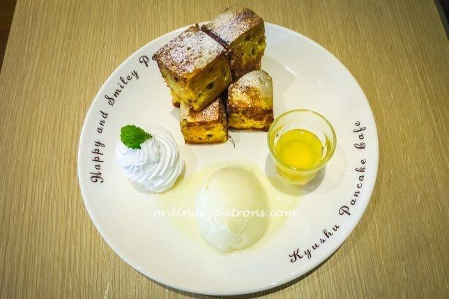 Kyushu Pancake Cafe Classic French Toast