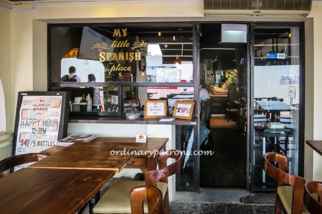 My Little Spanish Place at Boat Quay