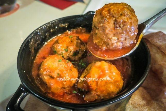 My Little Spanish Place Meatballs