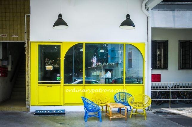 Non Entree Cafe at Rangoon Road