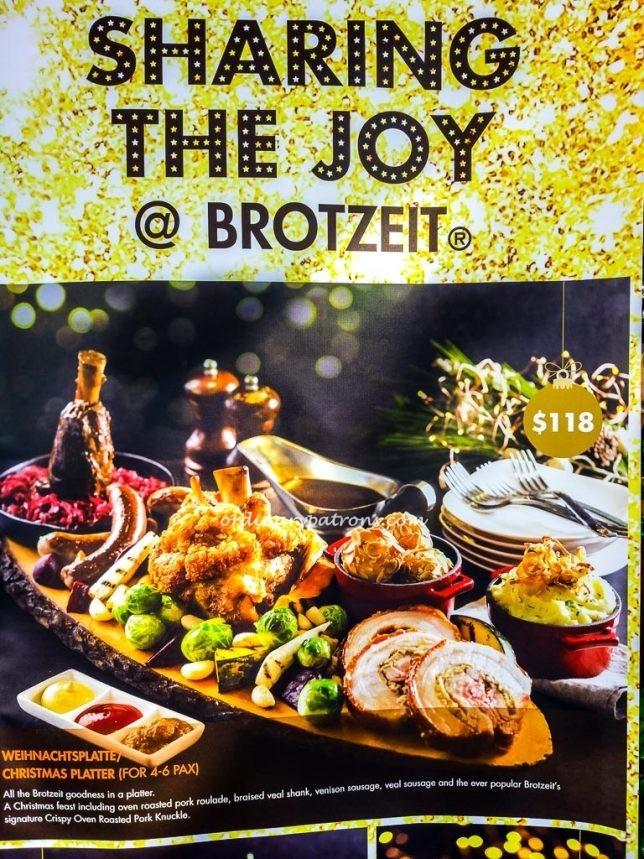 Christmas at Brotzeit
