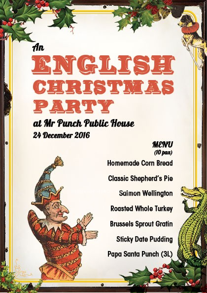 English Christmas Party