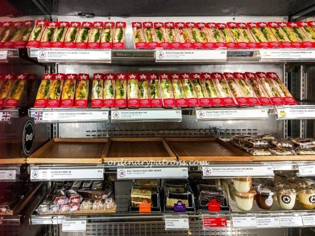 Pret A Manger Hong Kong