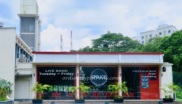 Spruce Fire Station Restaurant at Bukit Timah