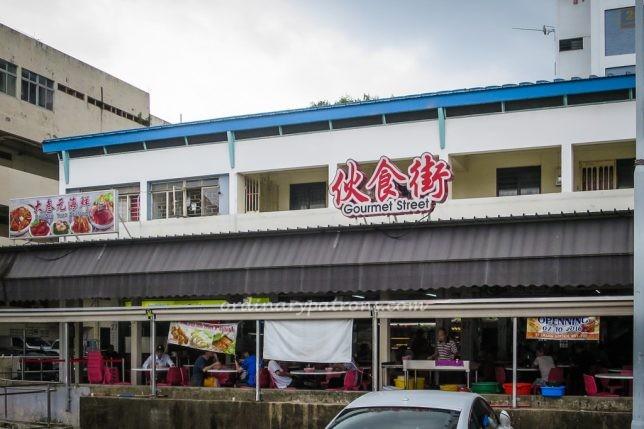 Sungei Road Laksa at Jalan Berseh