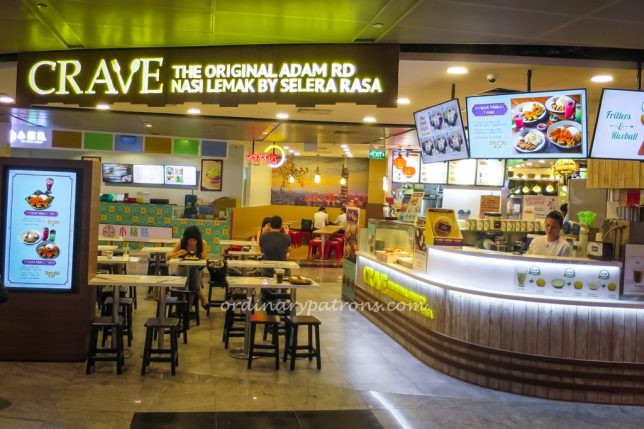 Crave at Tanjong Pagar Centre