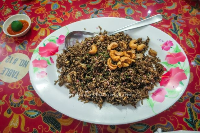 Chilli Padi Buah Keluak Fried Rice
