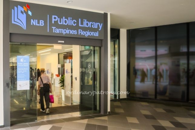 Library at Our Tampines Hub