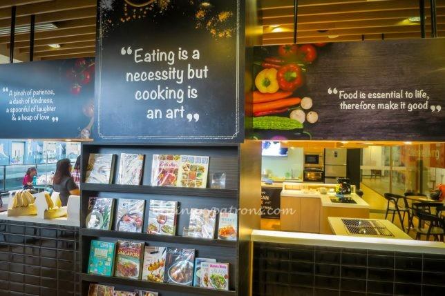 Cooking Studio in Wellness Centre