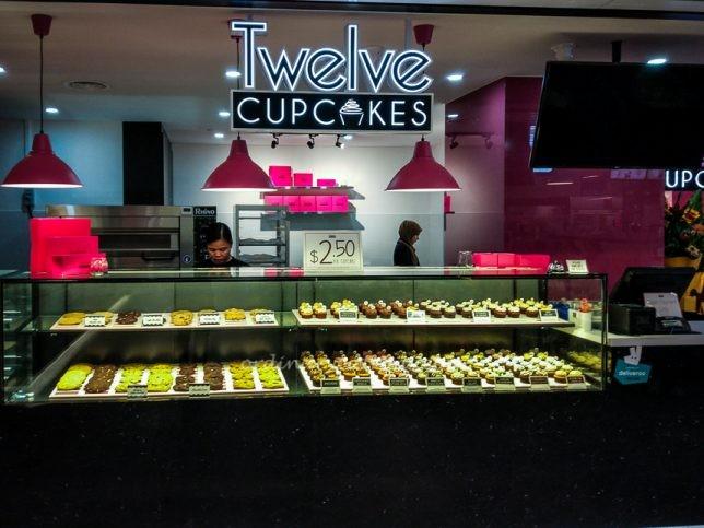 Twelve Cupcakes at SingPost