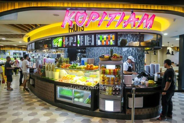 SingPost Kopitiam Food Court