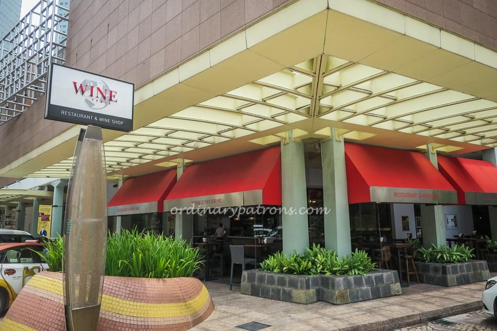 Wine Universe Millenia Walk Restaurant