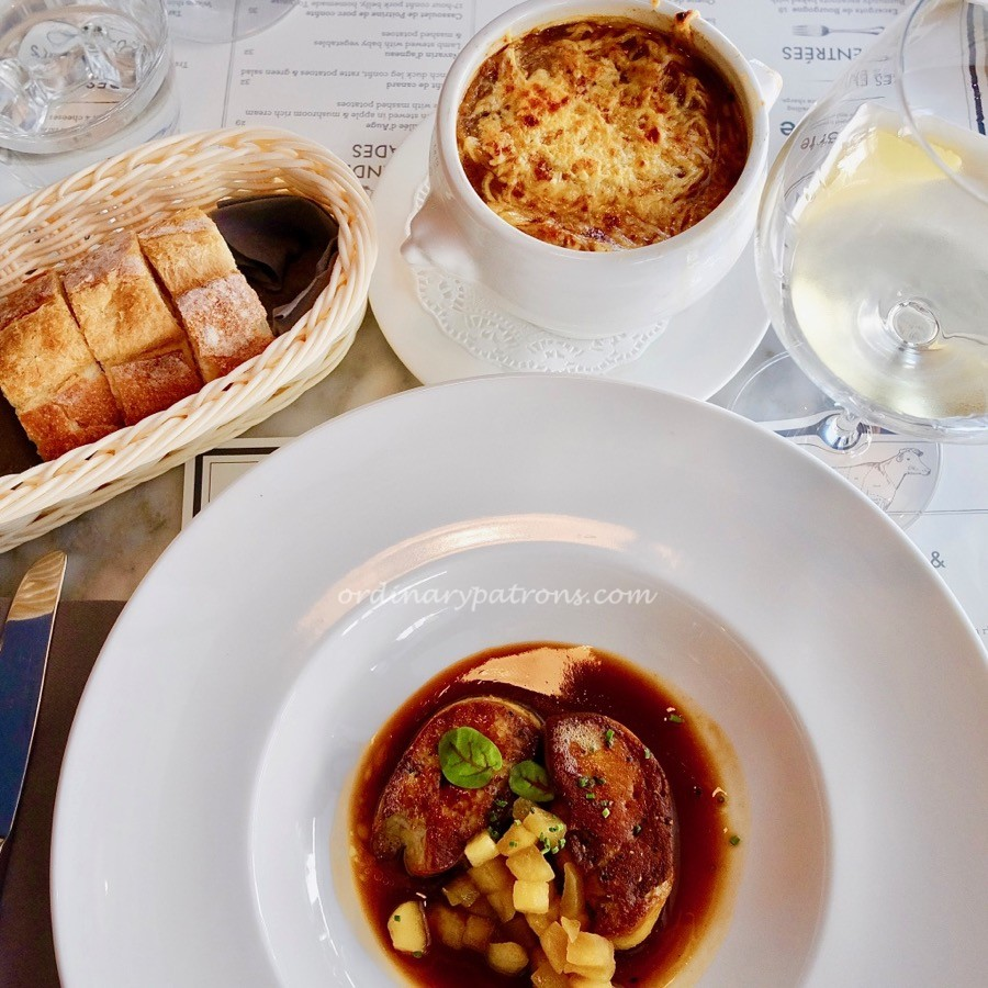 Classic french dishes in a french bistro in singapore - French classical cuisine ...