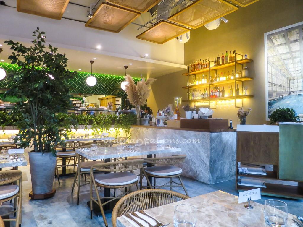Fynn 39 s modern australia restaurant in singapore the for Australian cuisine restaurants