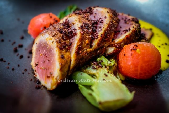 Salt Grill & Sky Bar Seared Tuna