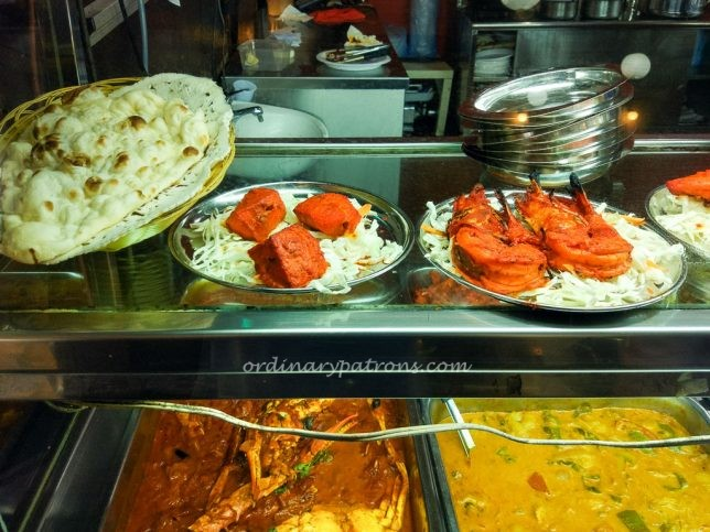 Samy's Curry Indian Restaurant Food