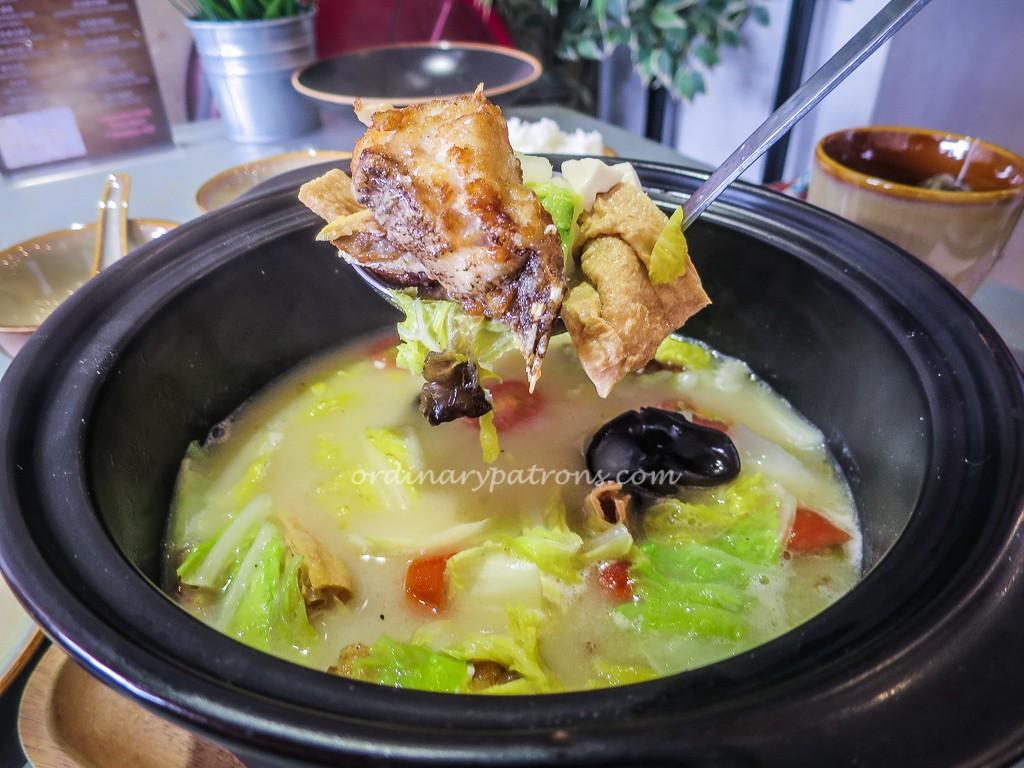 厨神私房菜 The Chinese Kitchen Fish BrothDish
