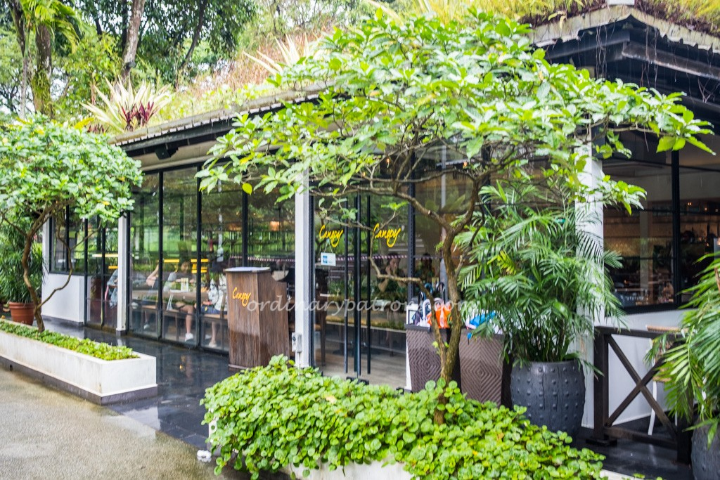 Canopy garden dining bar bishan ang mo kio park the for Garden design trends 2018