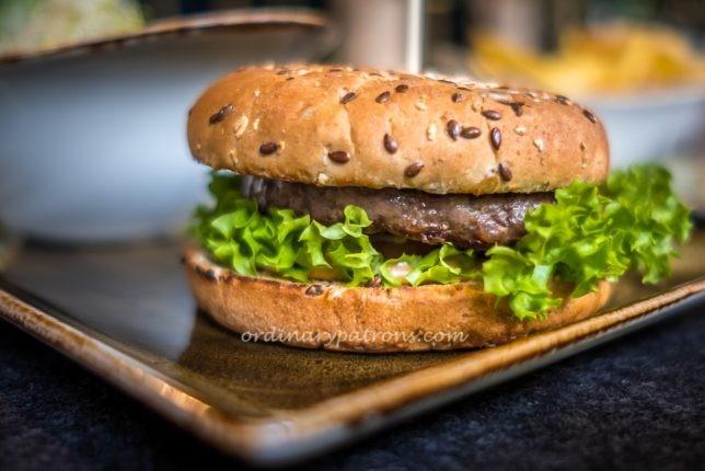 Klassik Burger hans glück German Burgergrill