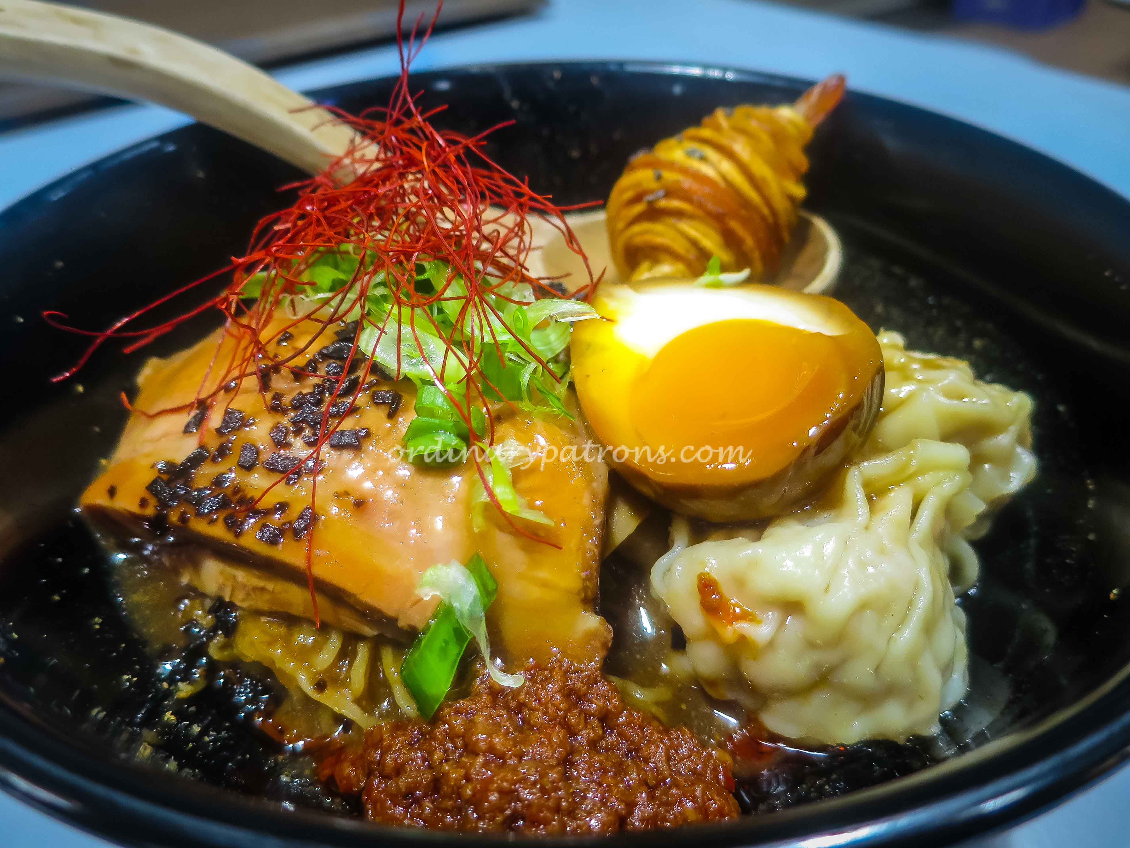Singapore-style ramen hawker stall, A Noodle Story at Amoy Street Food Centre