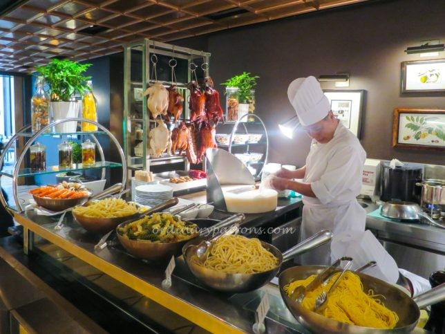 Pasta at Colony Buffet