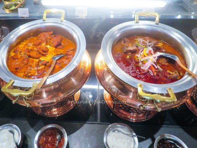 Indian food at Colony Buffet