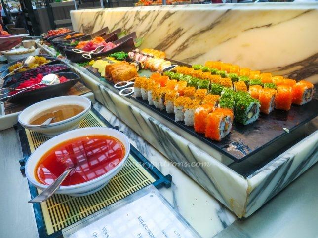 Sushi & Sashimi at Colony Ritz Carlton Buffet