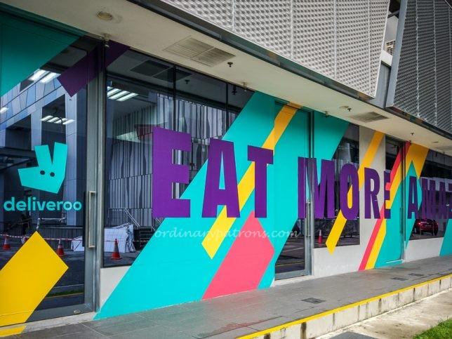 CT Hub Food options - Deliveroo Editions