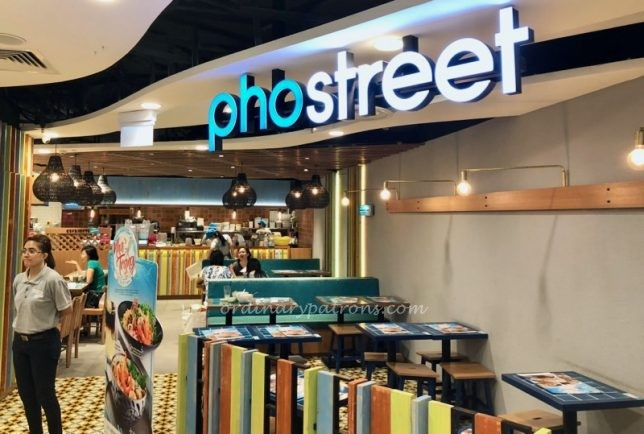 Pho Street Centrepoint Orchard Road Singapore