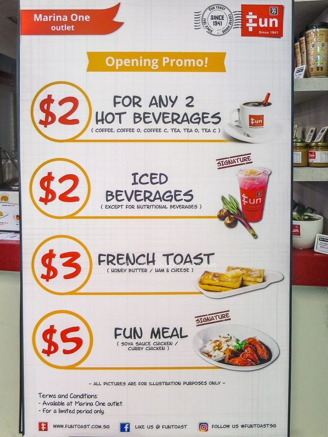 Fun Toast Promotions
